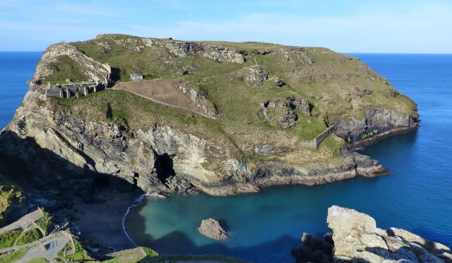Liebe & Macht in Cornwall - Tintagel und die Artussage